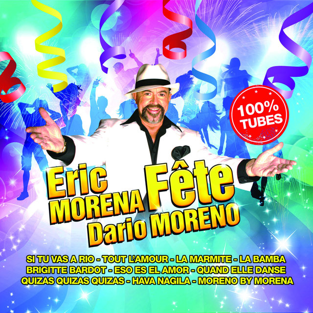 Couverture de Eric Morena fête Dario Moreno