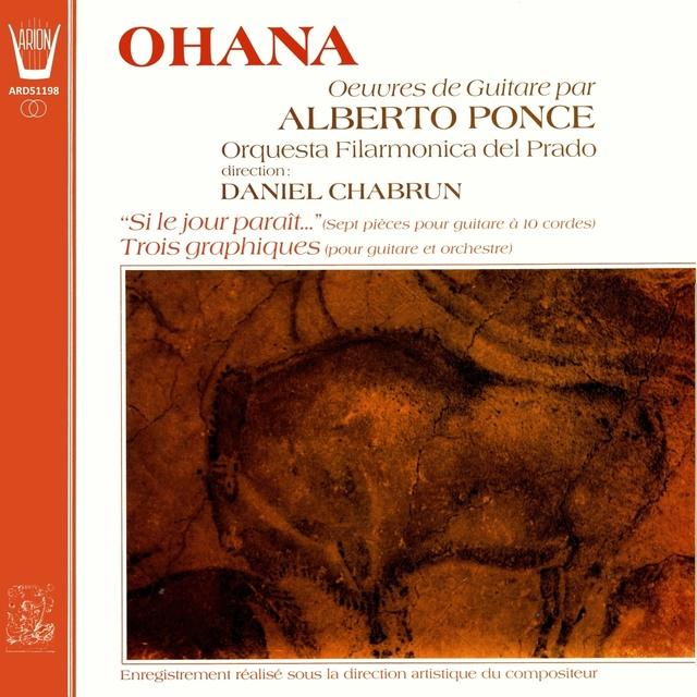 Maurice Ohana - Œuvres de guitare