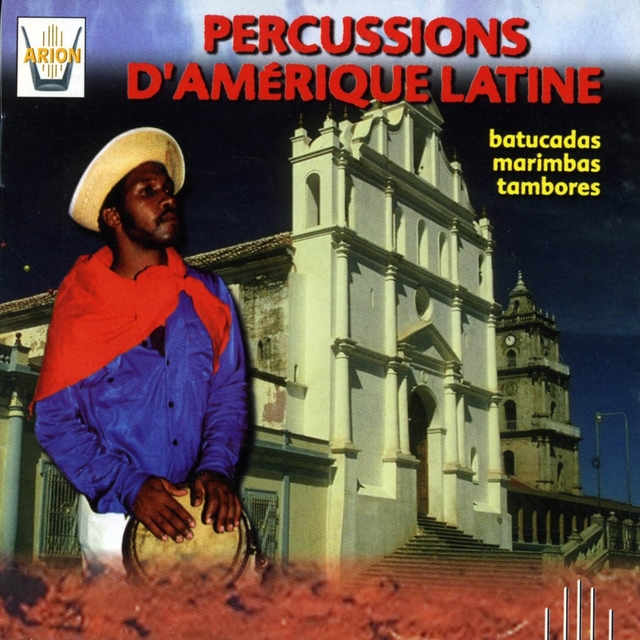 Couverture de Percussions d'Amerique Latine