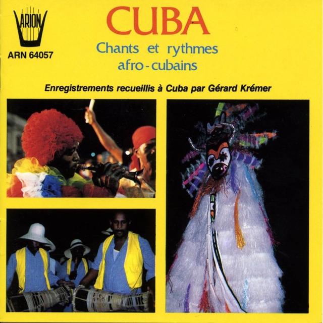 Couverture de Cuba : Chants et danses afro-cubains