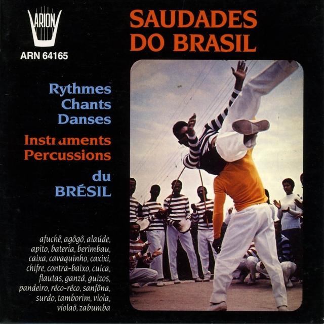 Saudades do Brasil : Rythmes, chants & danses du Brésil