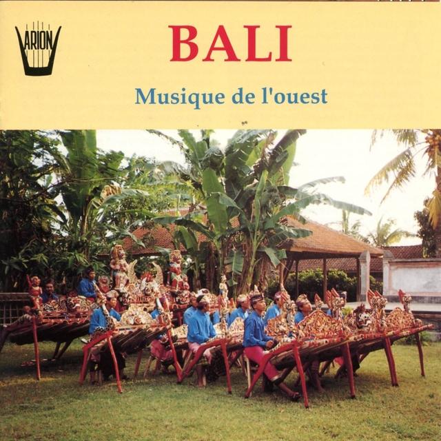 Bali : Musique de l'ouest
