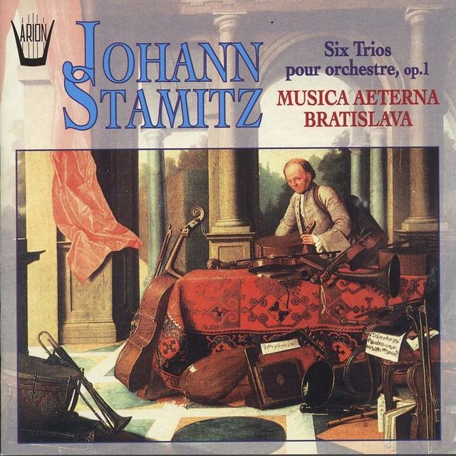 Stamitz : Six trios pour orchestre, Op.1