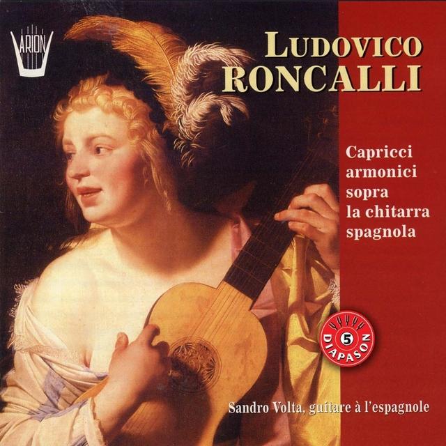 Roncalli : Caprices harmoniques sur guitare espagnole