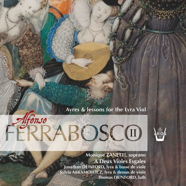 Couverture de Ferrabosco II: Ayres & Lessons for the Lyra Viol