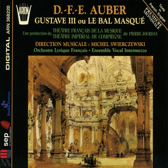 Aubert : Gustave III ou le bal masqué