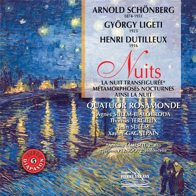 Schönberg, Ligeti et Dutilleux : Nuits