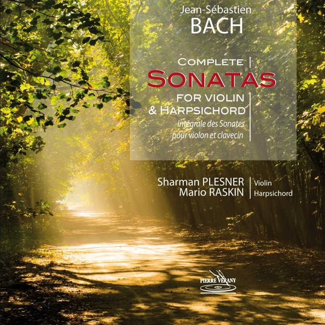 Bach: Complete Sonatas for Violin and Harpsichord
