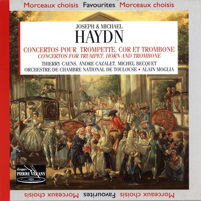 Haydn : Concertos pour trompette, cor et trombone