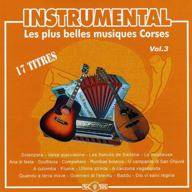 Instrumental: Les plus belles musiques corses, Vol. 3