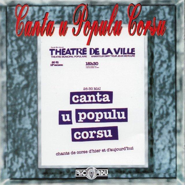 Théâtre de la ville (Chants de Corse d'hier et d'aujourd'hui)