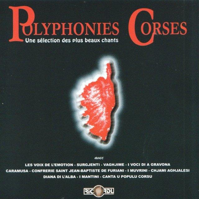 Polyphonies corses, Vol. 4: Une sélection des plus beaux chants