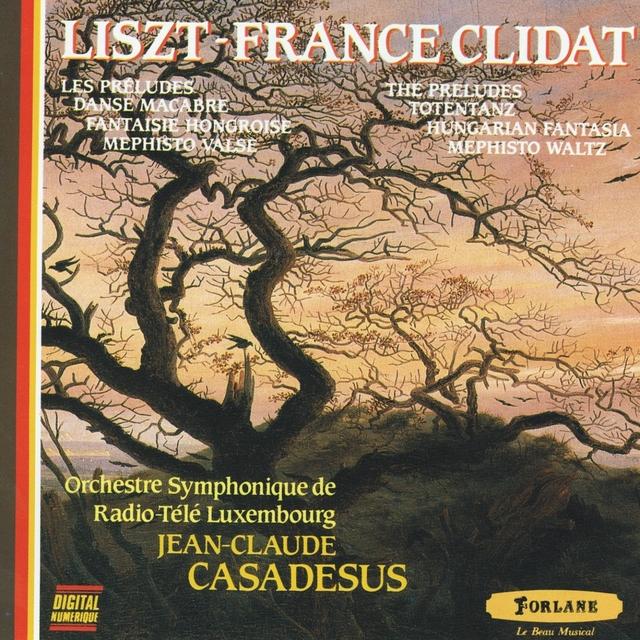 Liszt : Les préludes - Danse macabre - Fantaisie hongroise pour piano et orchestre - Mephisto valse