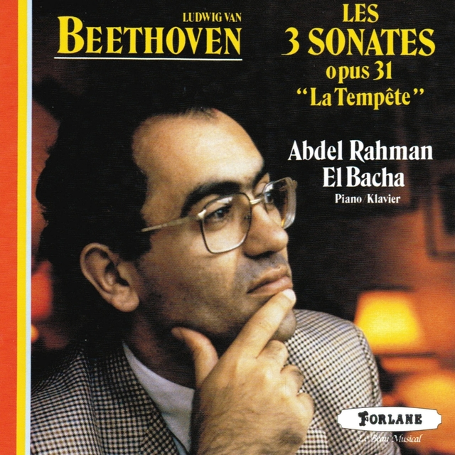 Ludwig Van Beethoven : Trois sonates - Op. 31