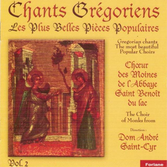 Chants grégoriens: Les plus belles pièces populaires, vol. 2