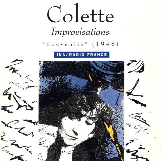 """Colette. Improvisations """"Souvenirs"""" (1948)"""