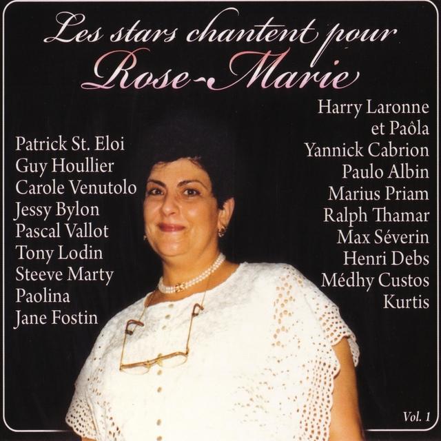 Couverture de Les stars chantent pour Rose-Marie