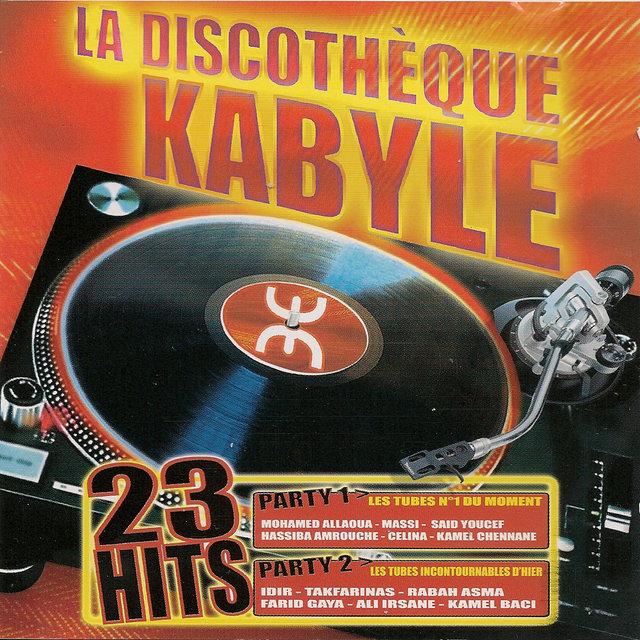Couverture de La discothèque kabyle