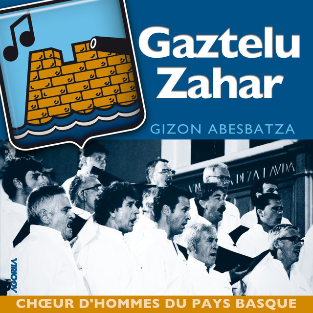 Couverture de Gizon abesbatza (Choeur d'hommes du Pays Basque)