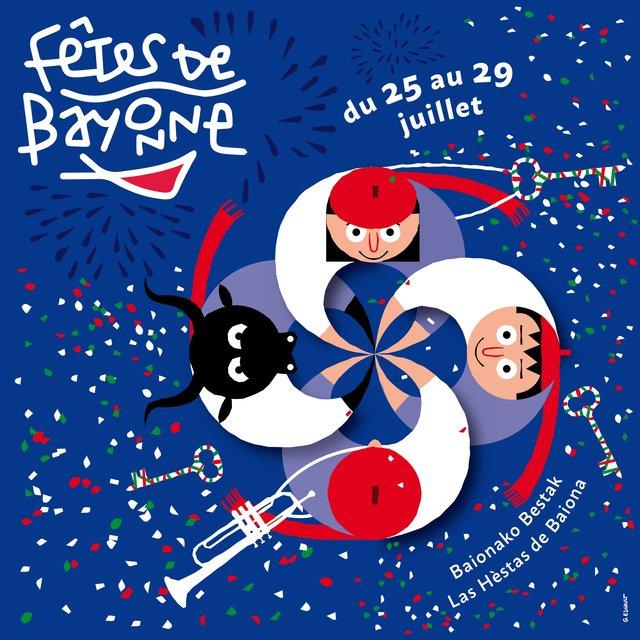 Couverture de Fêtes de Bayonne 2018