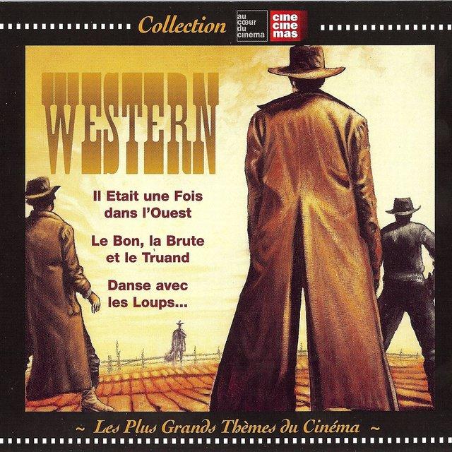 Couverture de Les plus grands thèmes du cinéma: Western