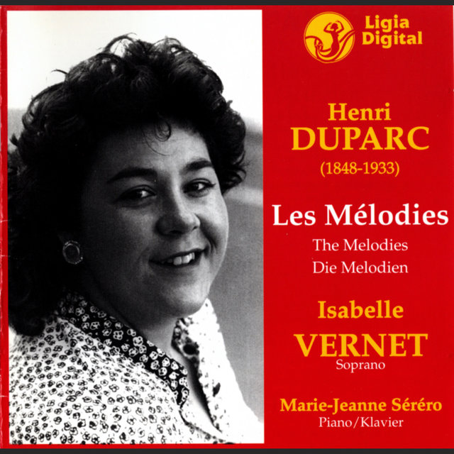 Duparc: Les Mélodies