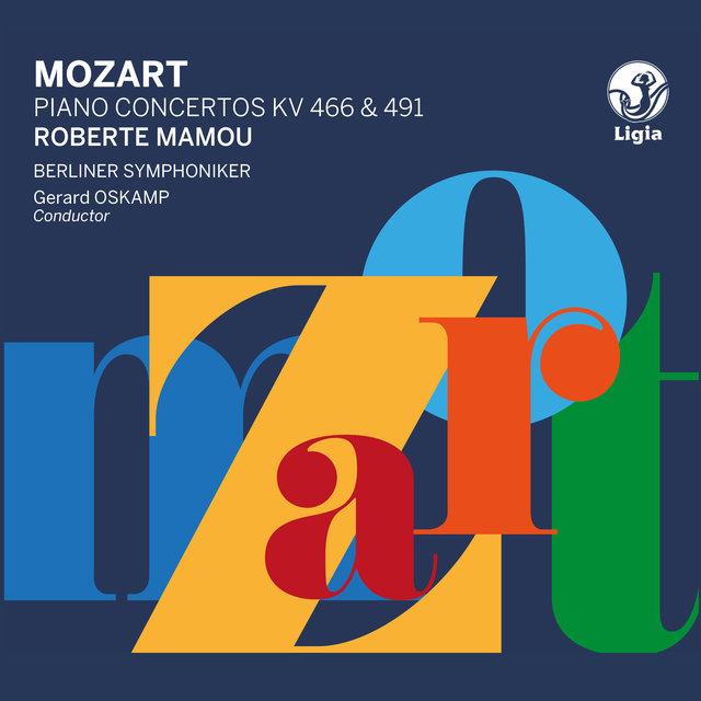 Couverture de Mozart: Piano Concertos K. 466 & 491