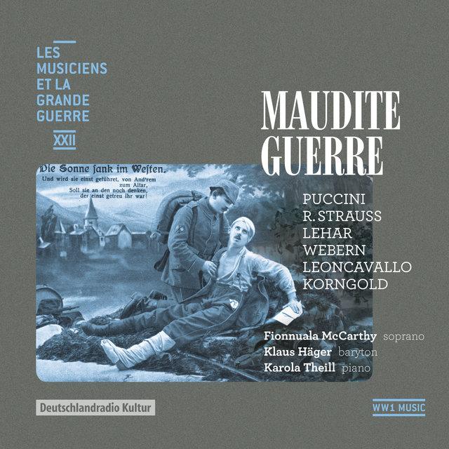 Maudite guerre (Les musiciens et la Grande Guerre, Vol. 22)