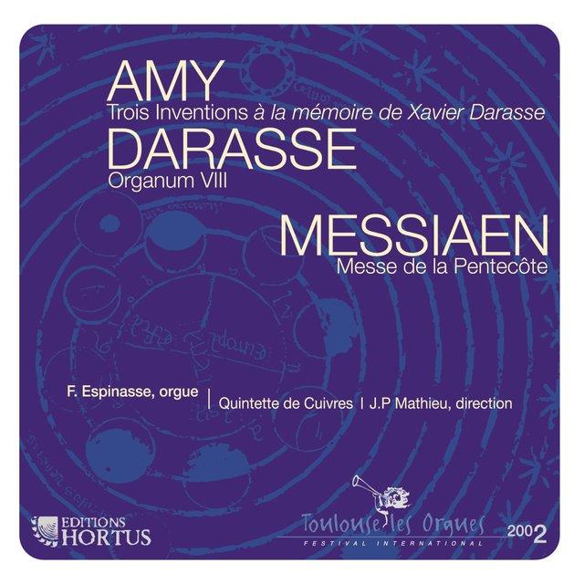 Amy, Darasse & Messiaen
