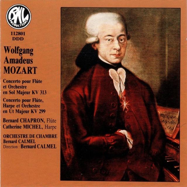 Mozart: Concertos pour flûte, harpe et orchestre