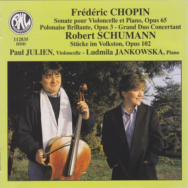 Couverture de Chopin & Schumann: Sonates pour violoncelle et piano
