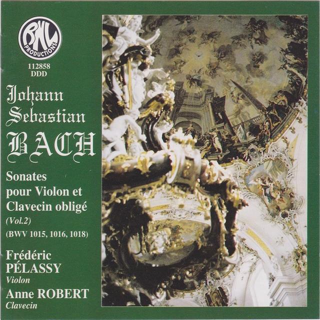 Couverture de Sonates pour violon et clavecin obligé