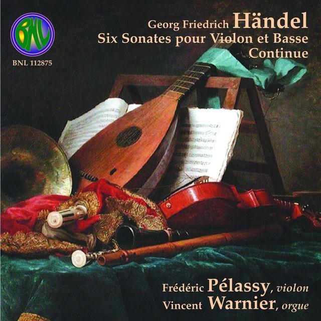 Handel: Six sonates pour violon et basse continue