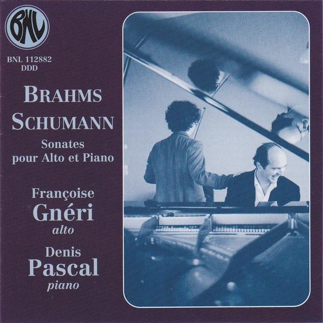 Couverture de Sonates pour alto et piano