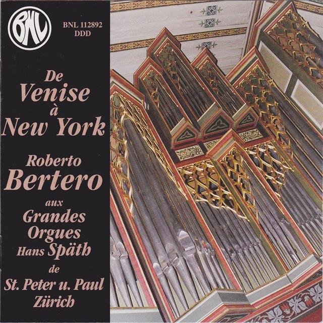 Couverture de De Venise à New York