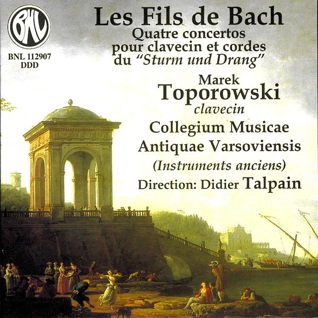 C.P.E. Bach, J.C. Bach & W..F. Bach: Quatre concertos pour clavecin et cordes