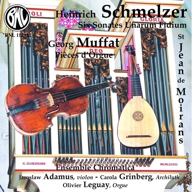 Six Sonates Unarum Fidium pour violon et basse, pièces d'orgue