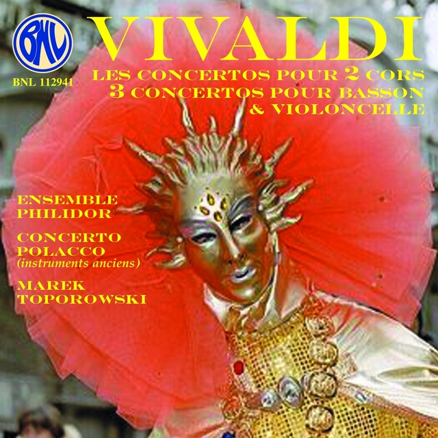 Vivaldi: Concertos pour 2 cors, basson, violoncelle baroque