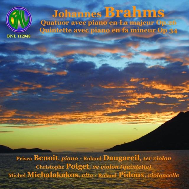 Brahms: Quatuor et quintette avec piano