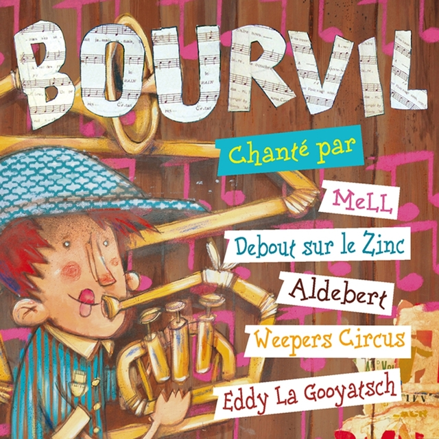 Couverture de Bourvil chanté par...