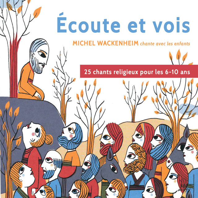 """Écoute et vois: Michel Wackenheim chante avec les enfants """"25 chants religieux pour les 6-10 ans"""""""