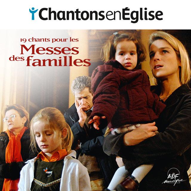 Couverture de Chantons en Église - 19 chants pour les Messes des familles