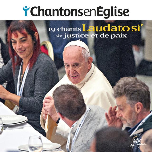Couverture de Chantons en Église - Laudato si' - 19 chants de justice et de paix