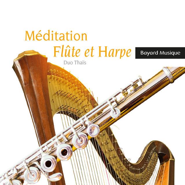 Couverture de Méditation flûte et harpe