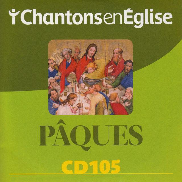 Couverture de Chantons en Église: Pâques (CD 105)