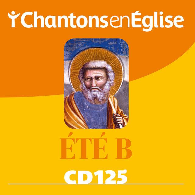 Couverture de Chantons en Église CD 125 Été B