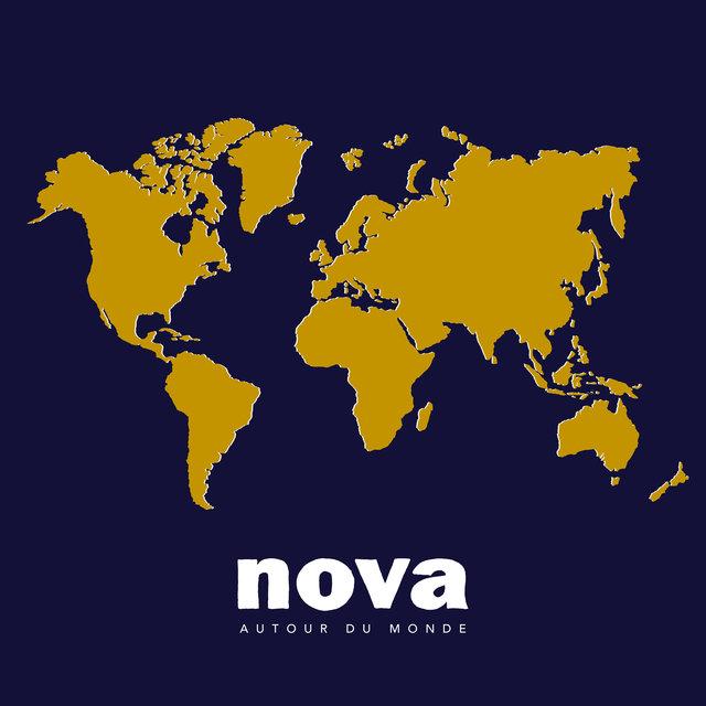Couverture de Nova autour du monde