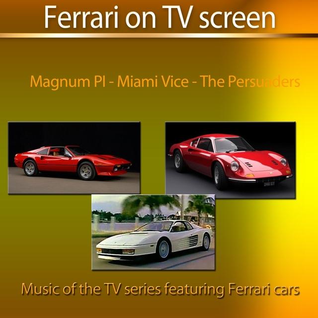 Ferrari On TV Screen