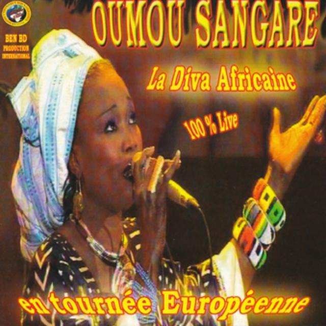 La diva africaine en tournée européenne