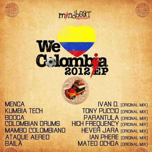 Mindbeat - We Love Colombia 2012
